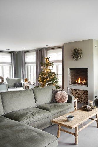 Bourgondische kerst in zelfontworpen huis - Wonen Landelijke Stijl