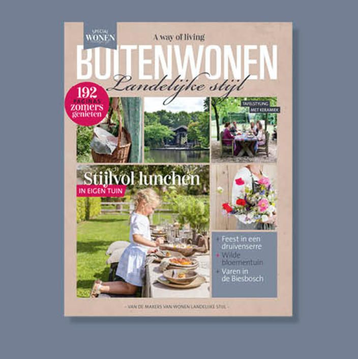Tuinen landelijke stijl - cover
