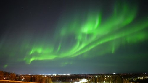 Solar Storm Causes Epic Northern Lights Display - Videos from The Weather Channel | weather.com