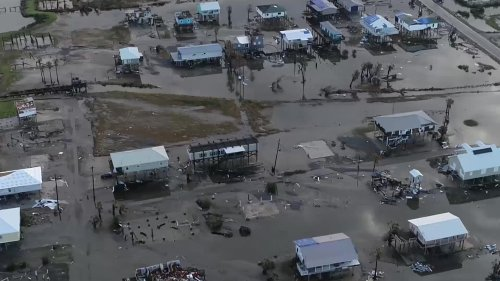 What Grand Isle Looks Like Two Weeks After Hurricane Ida - Videos from The Weather Channel | weather.com
