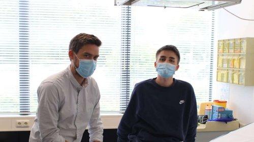 Zwischen Schulbank und Krankenbett: Noel (18) schafft sein Abitur trotz schwerer Erkrankung