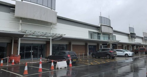 The retail park that's lost six big names in just under two years