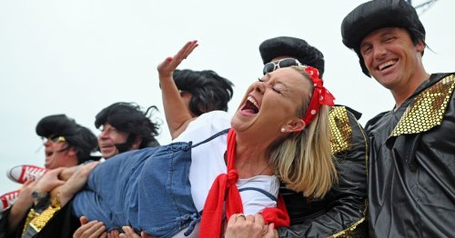 The scenes from Porthcawl as the Elvis Festival returns