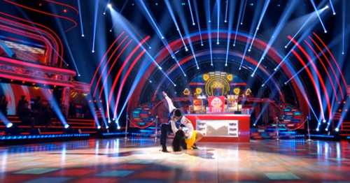 The Strictly scores in full as 'grumpy' Craig told off