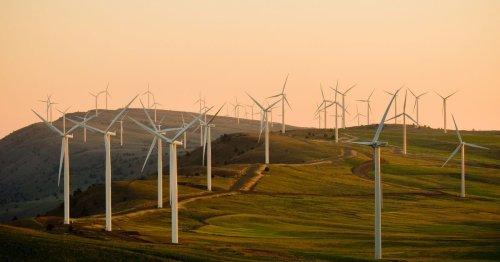 Protests over UK's tallest wind farm plans near Welsh village