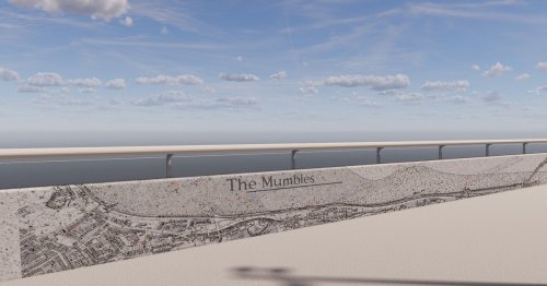 The new sea defences proposed for Mumbles