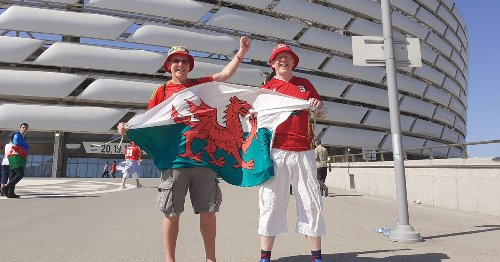 Wales fans turned away at Amsterdam Airport ahead of Euros clash