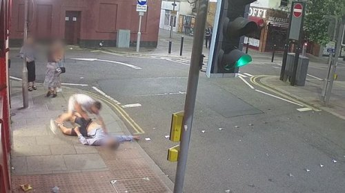 Video shows unprovoked attack that left victim with bleed on the brain
