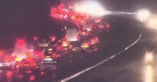 Live updates as crash and broken down lorry cause heavy M4 delays