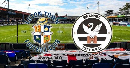 Luton Town v Swansea City - live updates