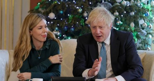 Boris and Carrie Johnson accused of breaching lockdown rules
