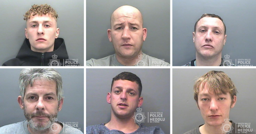 The full list of men wanted by police in Wales right now