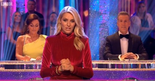 Strictly host Tess Daly heard muttering cutting comment about judge Craig