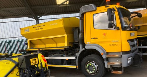 Cardiff council has given its gritters names - and they're great