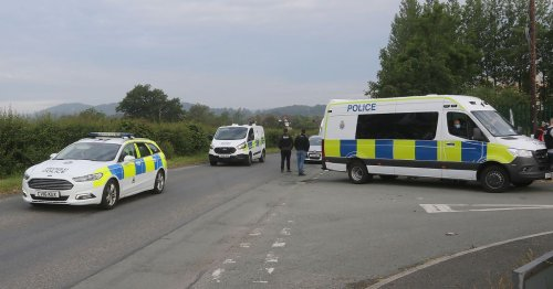 More than 80 police officers involved in raid at caravan park