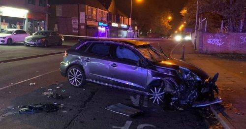Live: Merridale Road, Wolverhampton closed in both directions