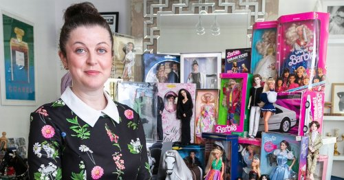 Mum, 40, spends thousands in just a few months collecting Barbie dolls