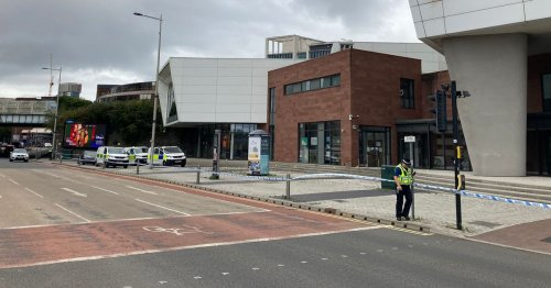 Live updates as police cordon off area of University of South Wales