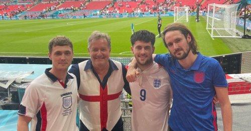 Piers Morgan says he caught Covid at Wembley Euro2020 final