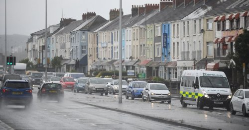 Weather warning issued with more than four inches of rain forecast
