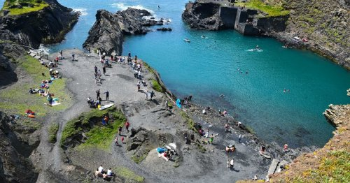 Wales' blue lagoon to close to public for two months