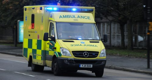 Patient in suspected cardiac arrest attacked paramedics saving her
