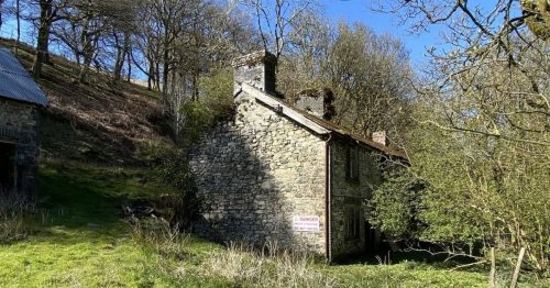 16 acres of beautiful Welsh countryside and a stone-built farmhouse