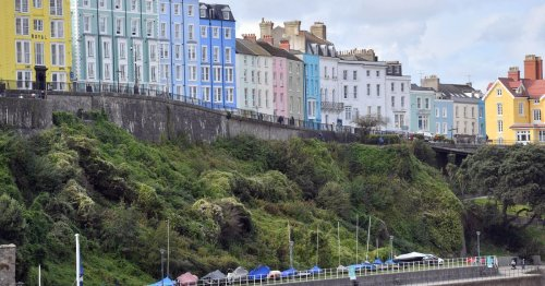 Tenby named second prettiest town in the UK