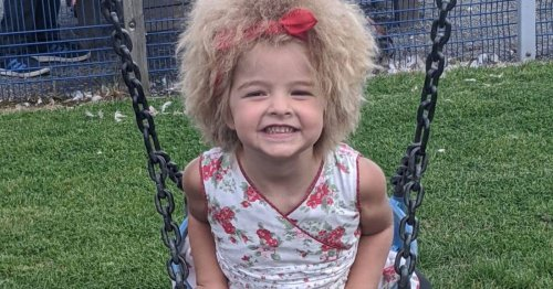Schoolgirl with same rare condition as Einstein embraces frizzy locks