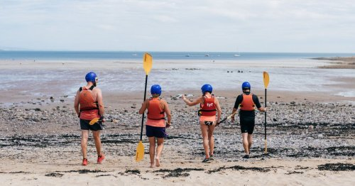 Adventure staycation in Wales with hiking, water sports and yoga