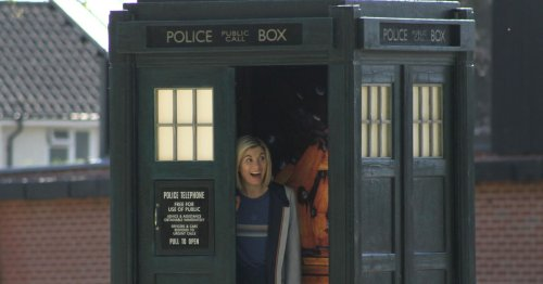 The best pictures from the Cardiff park transformed into a Doctor Who film set