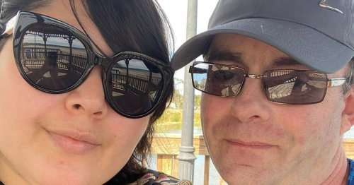 Engaged couple haven't seen each other for a year due to pandemic