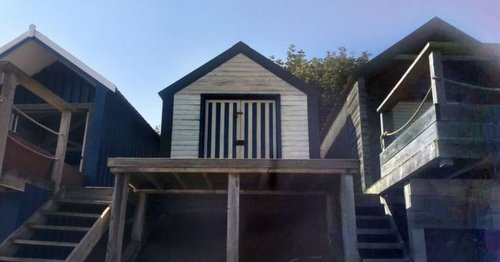 Tiny beach hut on the Welsh coast valued at the same price as a house sold