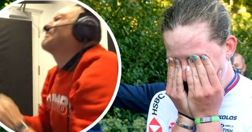 Commentator breaks down in tears live on air as Welsh daughter wins gold