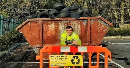 The 16-year-old who is putting skips all around Merthyr