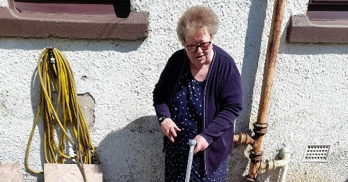 'I feel scared to leave the house' Raw sewage floods pensioner's garden