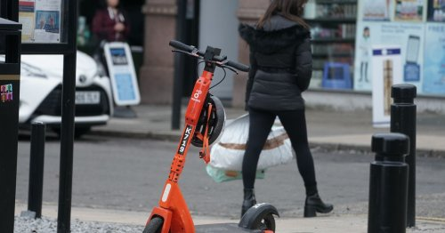 Police issue e-scooter warning and explain where you can and can't ride them