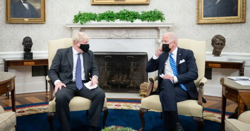 Biden leave Johnson red-faced as he plays down trade deal chances