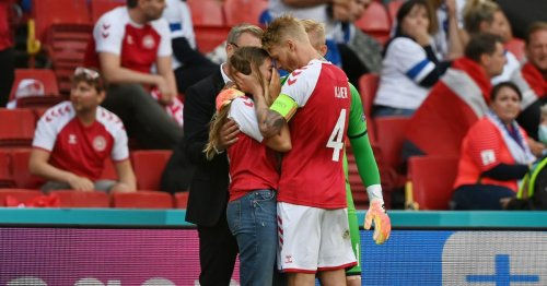 Piers Morgan praises captain Simon Kjaer after Euro game horror