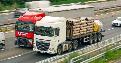 Changes to driving licence rules aimed at easing HGV driver shortage