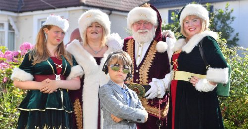 The Christmas family who raise thousands for charity each year