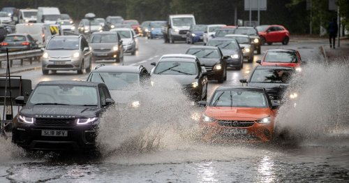 Live updates as heavy rain causes flooding and disruption across Wales