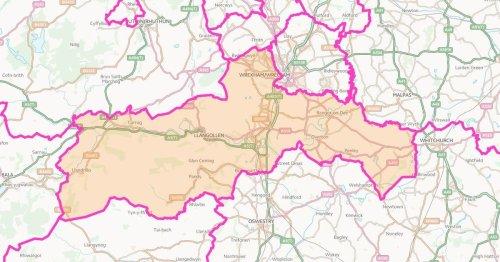 Senedd election result 2021 for Clwyd South