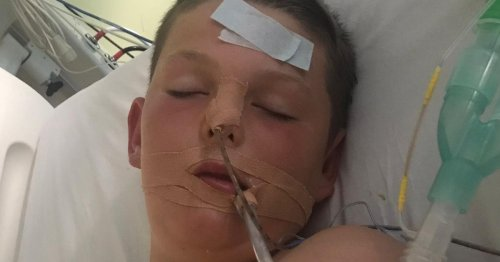 Boy, 13, suffers a stroke while playing with his friends in the sunshine