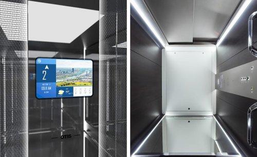 Otis elevators reach new heights