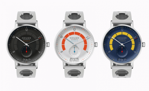 Nomos Autobahn watch is rethought by designer Werner Aisslinger