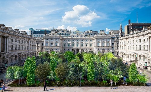 Es Devlin plans 400-tree forest at London's Somerset House