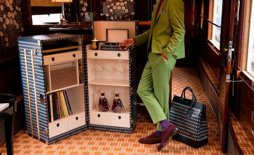 Journey in style with Orient Express travel objects