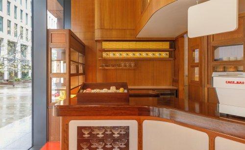 Café Bao serves up mid-century interiors in London