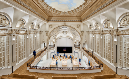Apple converts 1920s downtown LA theatre into show-stopping store